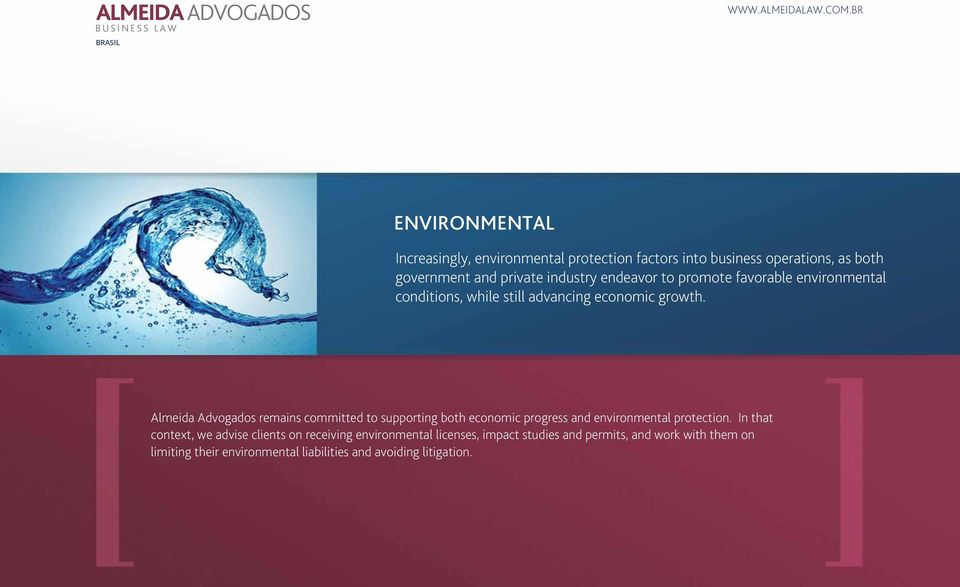 Almeida Advogados remains committed to supporting both economic progress and environmental protection.