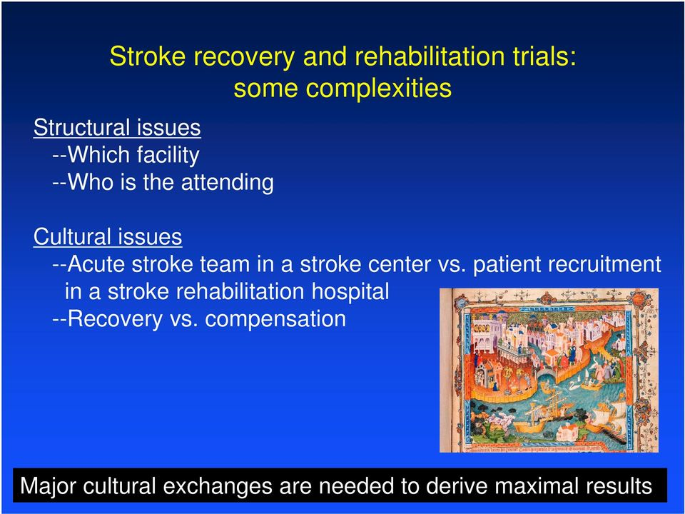 stroke center vs.