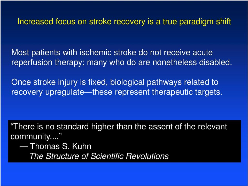 Once stroke injury is fixed, biological pathways related to recovery upregulate these represent