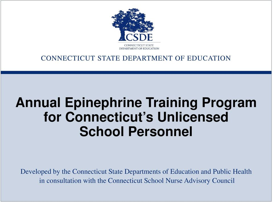 State Departments of Education and Public Health in