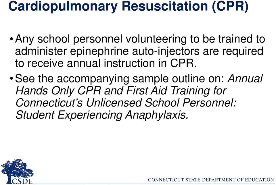 in CPR.