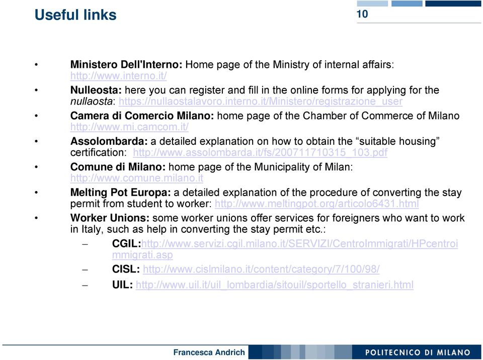 it/ministero/registrazione_user Camera di Comercio Milano: home page of the Chamber of Commerce of Milano http://www.mi.camcom.