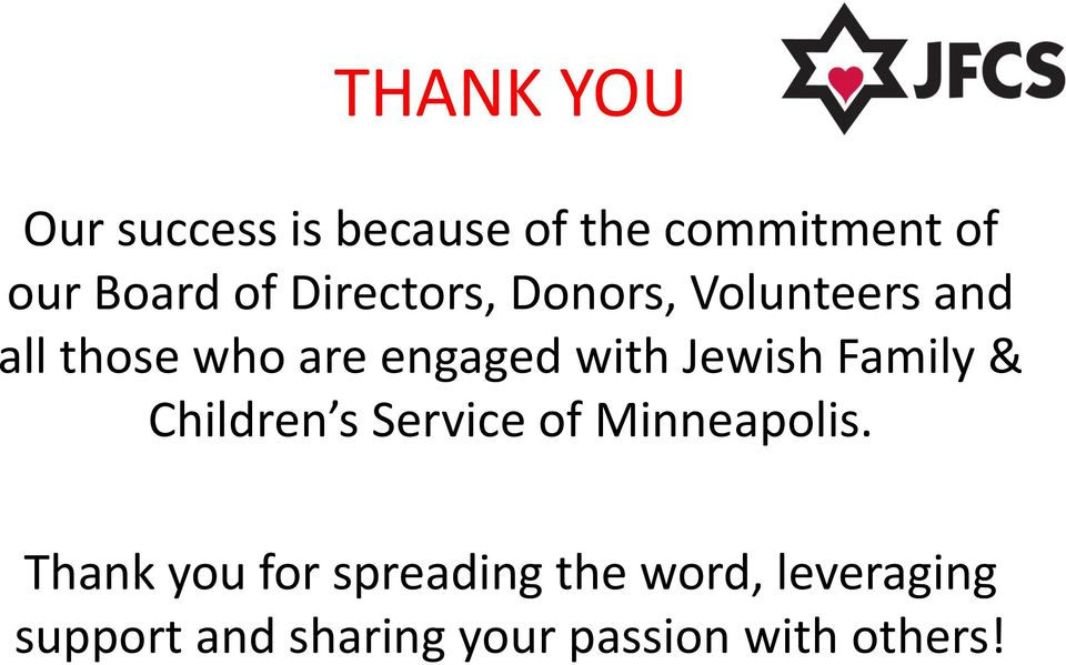 Jewish Family & Children s Service of Minneapolis.