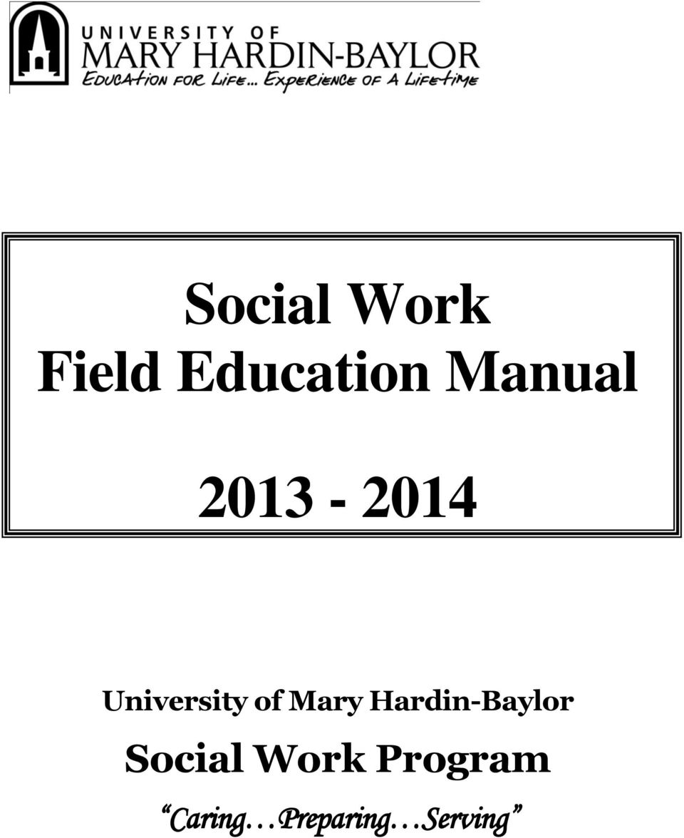 Mary Hardin-Baylor Social Work