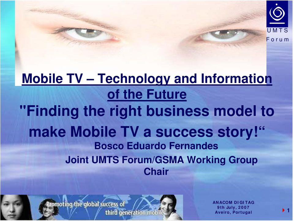 make Mobile TV a success story!