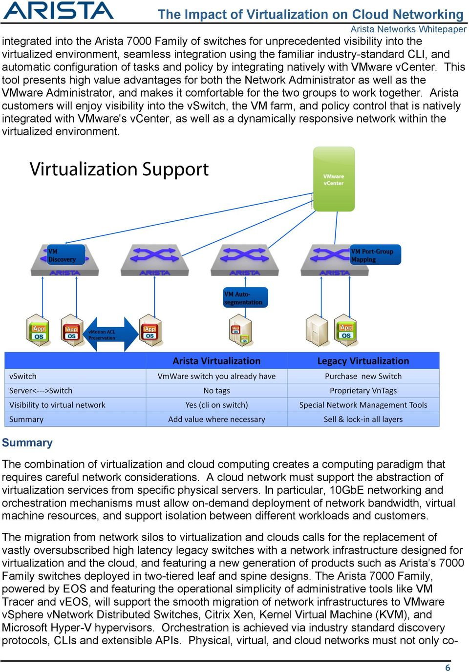 This tool presents high value advantages for both the Network Administrator as well as the VMware Administrator, and makes it comfortable for the two groups to work together.