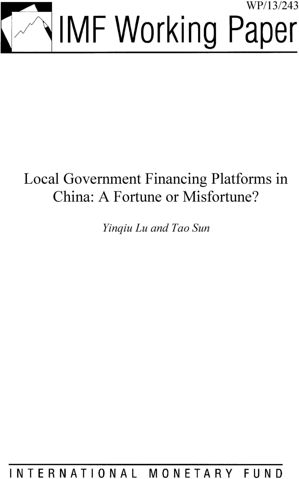 Platforms in China: A
