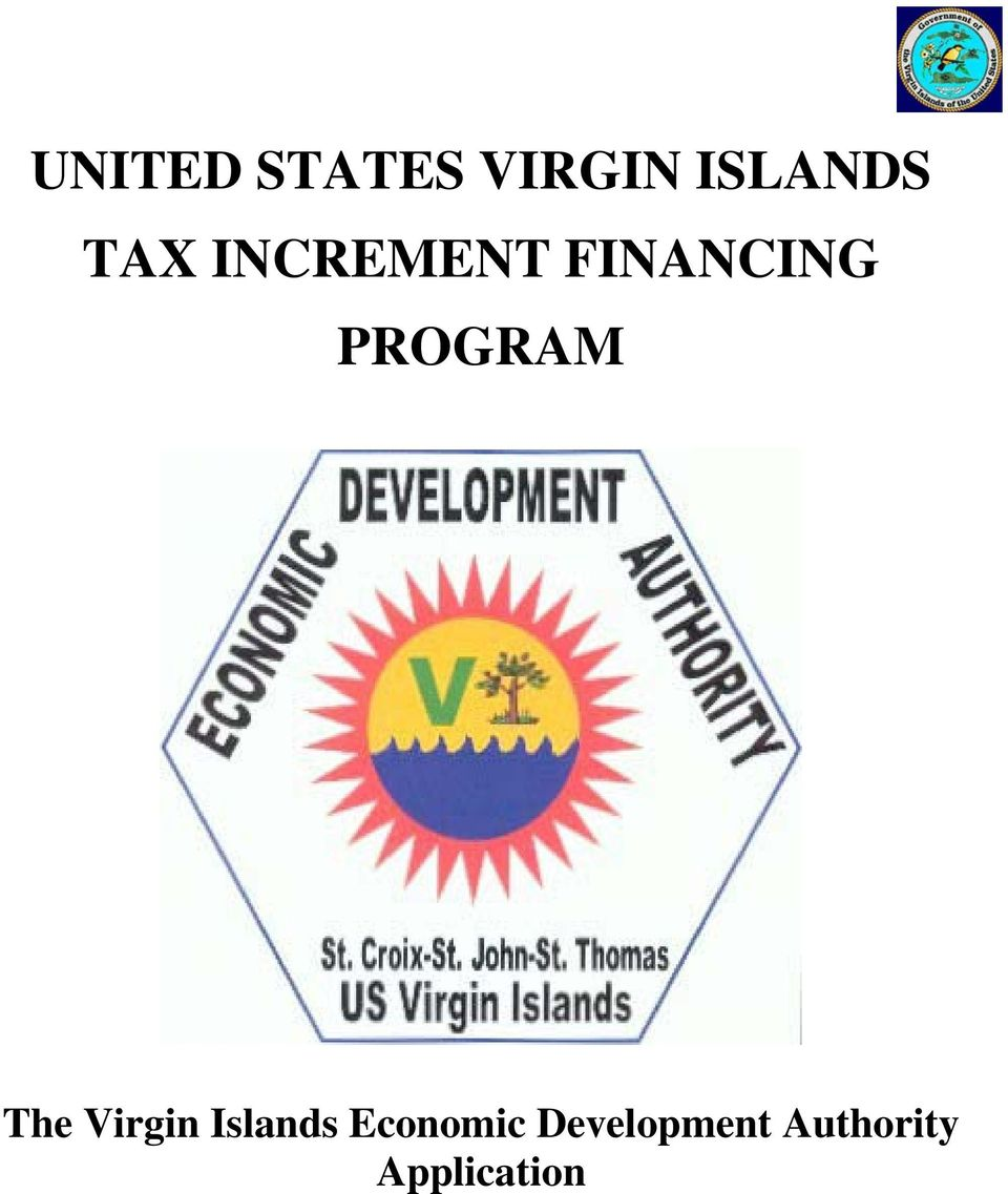 PROGRAM The Virgin Islands