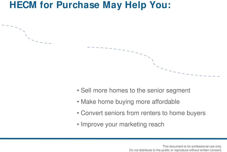 buying more affordable Convert seniors from