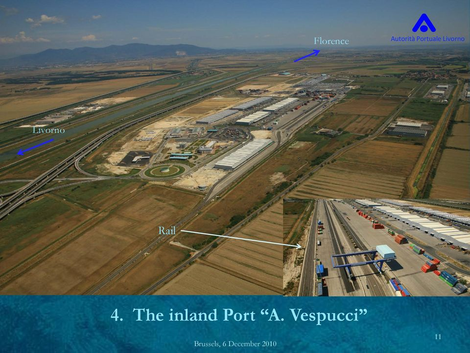 The inland Port A.