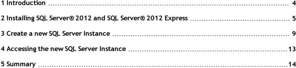 Create a new SQL Server Instance 9 4