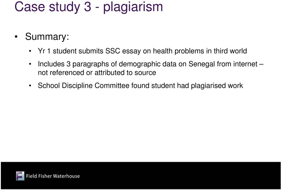 demographic data on Senegal from internet not referenced or