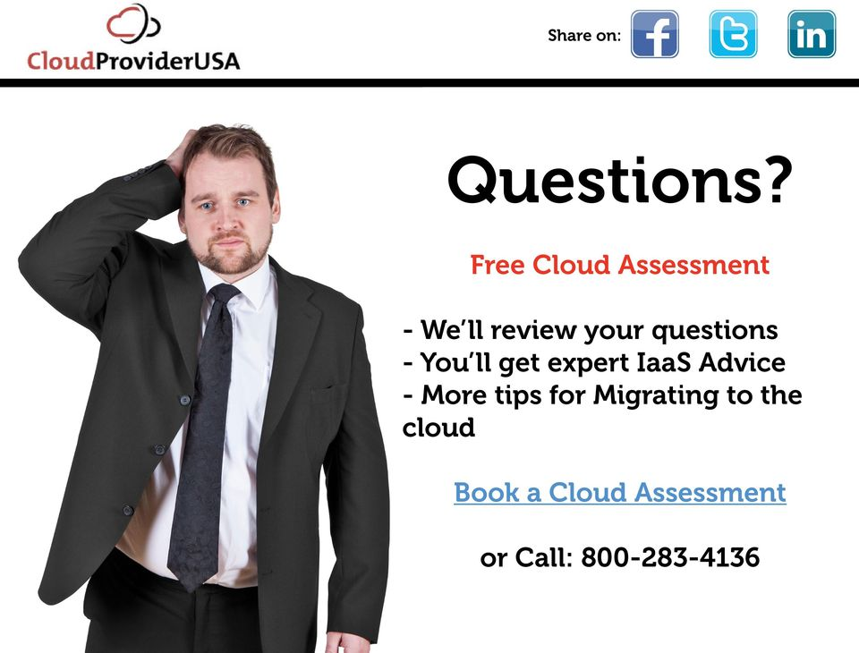 questions - You ll get expert IaaS Advice -