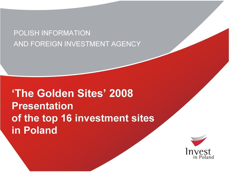 Sites 2008 Presentation of the