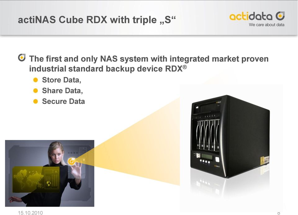 proven industrial standard backup device RDX
