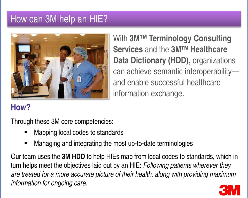 successful healthcare information exchange.
