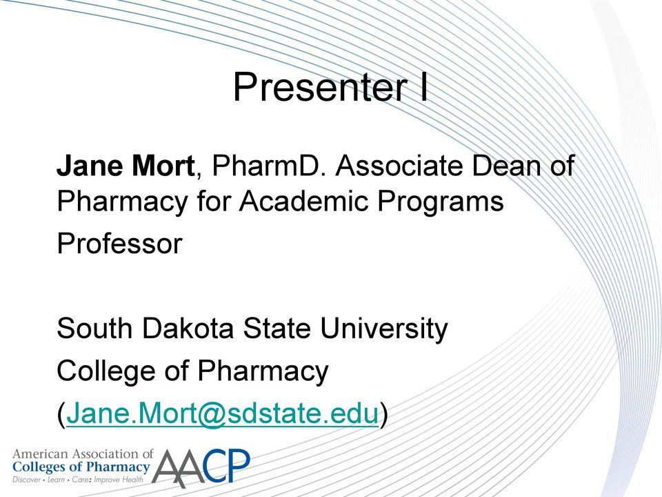 Programs Professor South Dakota State