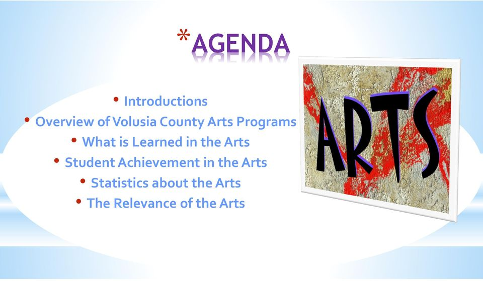 Arts Student Achievement in the Arts