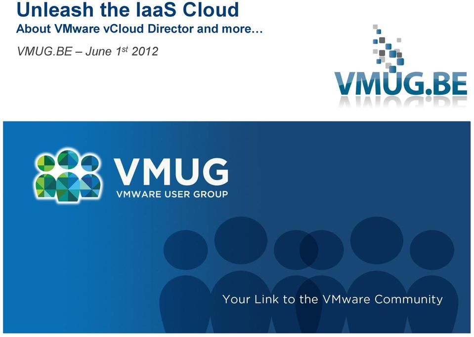 vcloud Director and