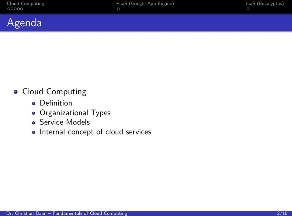 Computing Definition Organizational