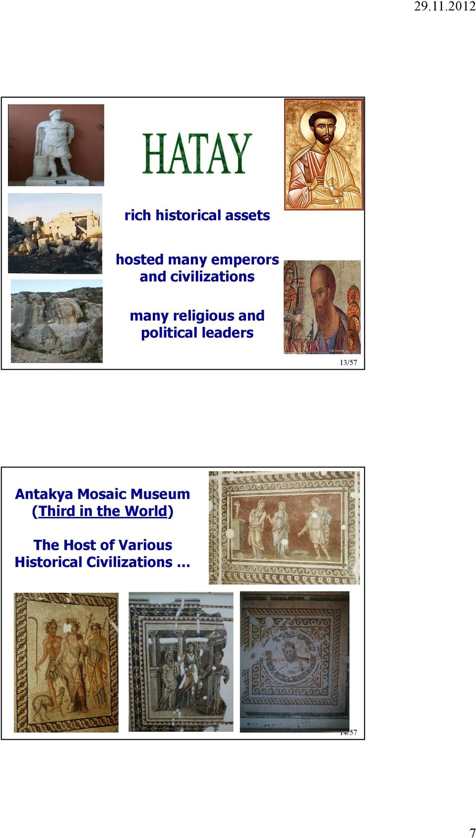 leaders 13/57 Antakya Mosaic Museum (Third in the