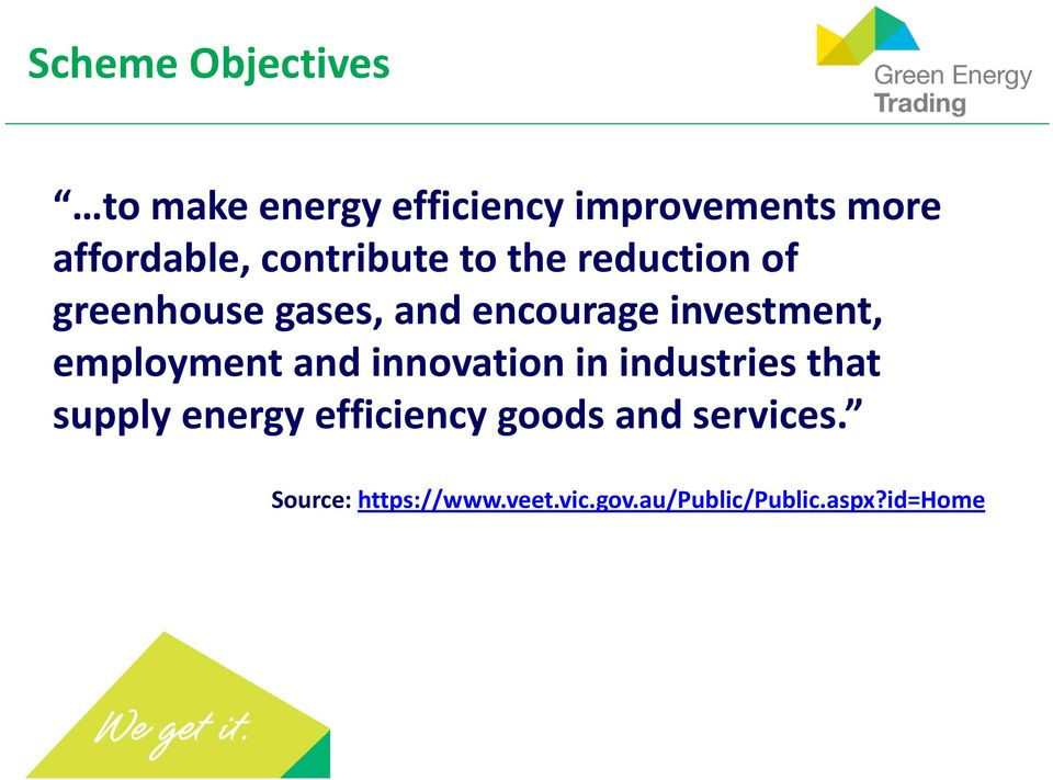 employment and innovation in industries that supply energy efficiency goods