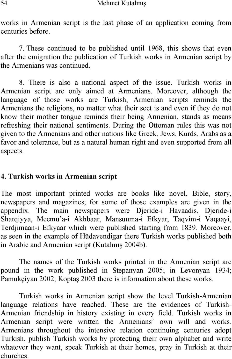 On the Turkish in Armenian Script - PDF