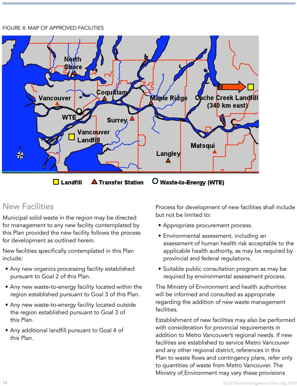 Any new waste-to-energy facility located within the region established pursuant to Goal 3 of this Plan.