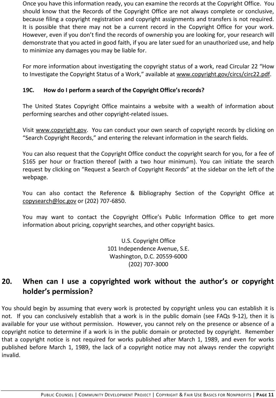It is possible that there may not be a current record in the Copyright Office for your work.