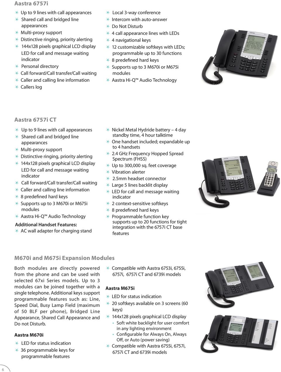 standby time, 4 hour talktime One handset included; expandable up to 4 handsets 2.4 GHz Frequency Hopped Spread Spectrum (FHSS) Up to 300,000 sq. feet coverage Vibration alerter 2.