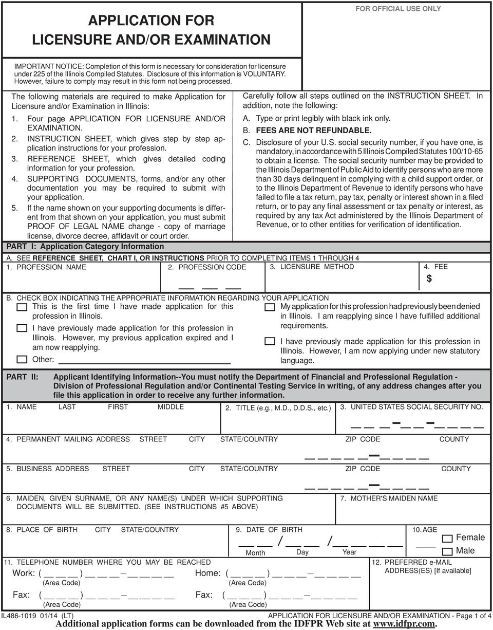 reference application to nursing superintendents