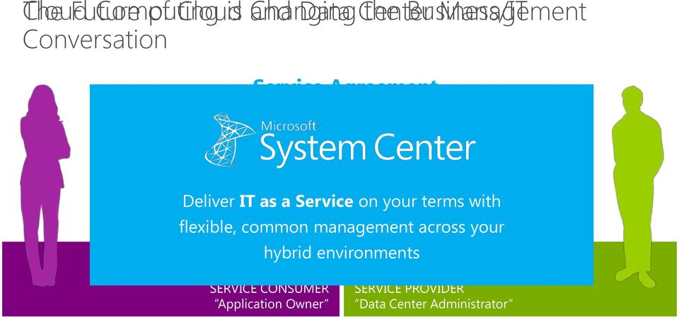 and Control Flexible and Elastic Deliver IT as a Service on your terms with Simplicity Cost Efficiency flexible,
