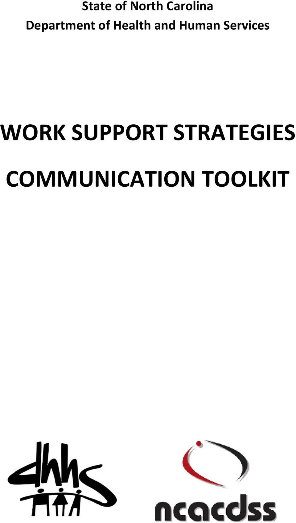 Human Services WORK SUPPORT