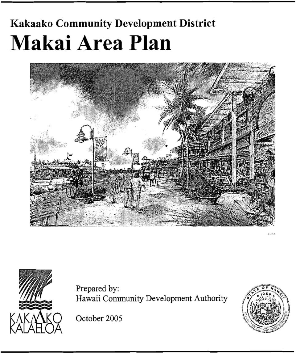 Area Plan Prepared by: Hawaii