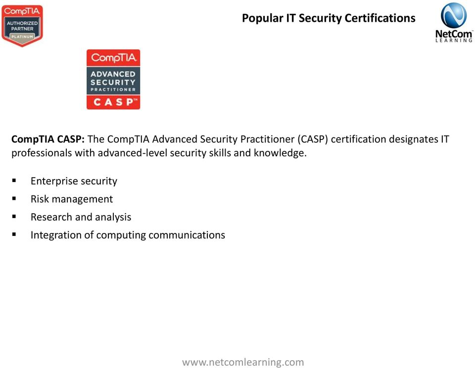 It Security Training Why Security Certification A Serious Business