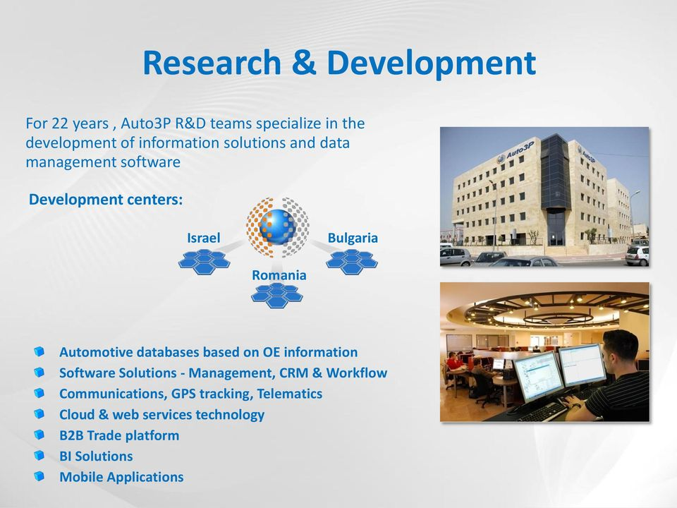 databases based on OE information Software Solutions - Management, CRM & Workflow Communications,