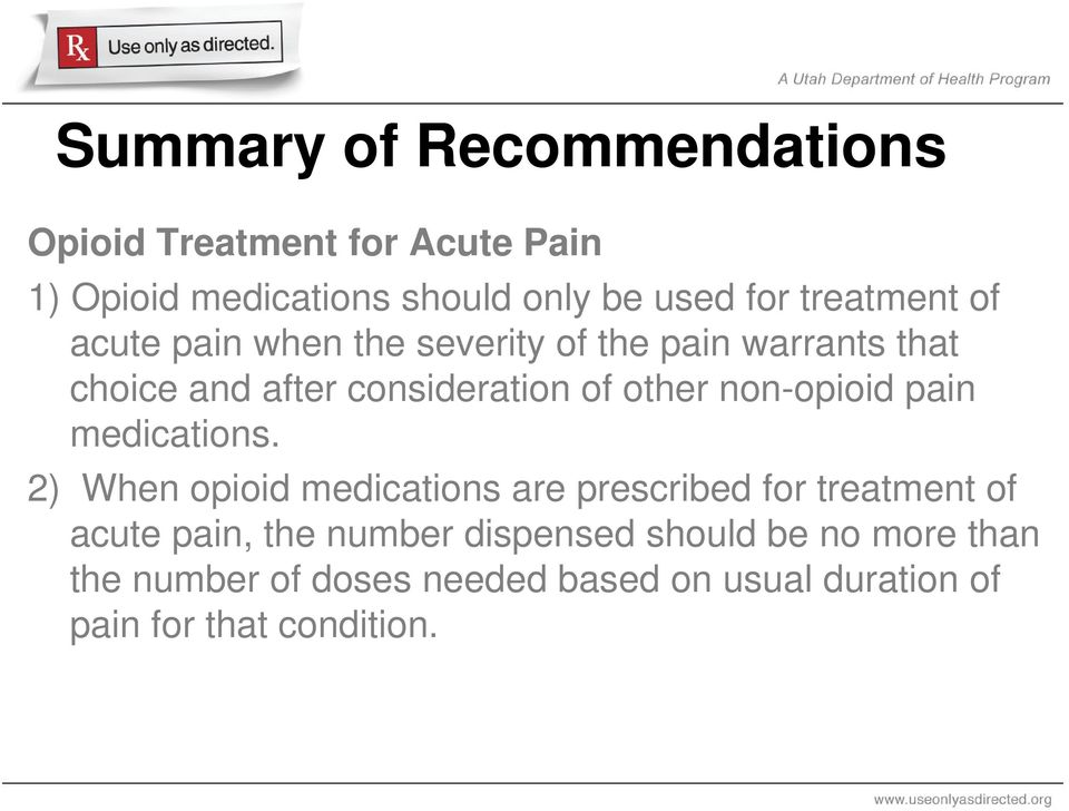 non-opioid pain medications.
