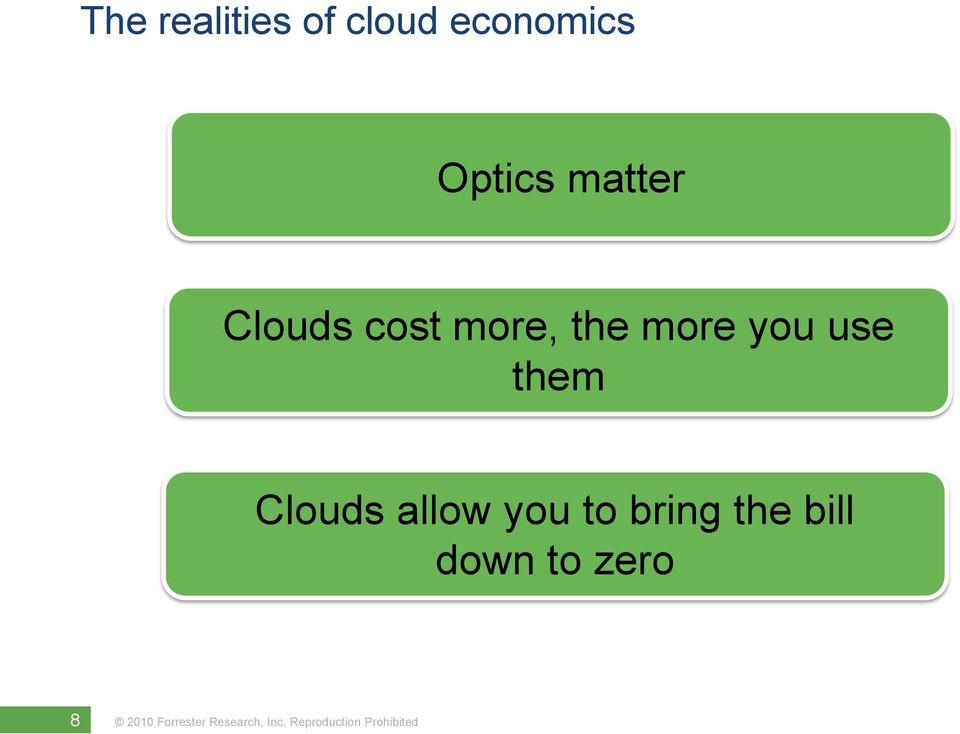 the more you use them Clouds