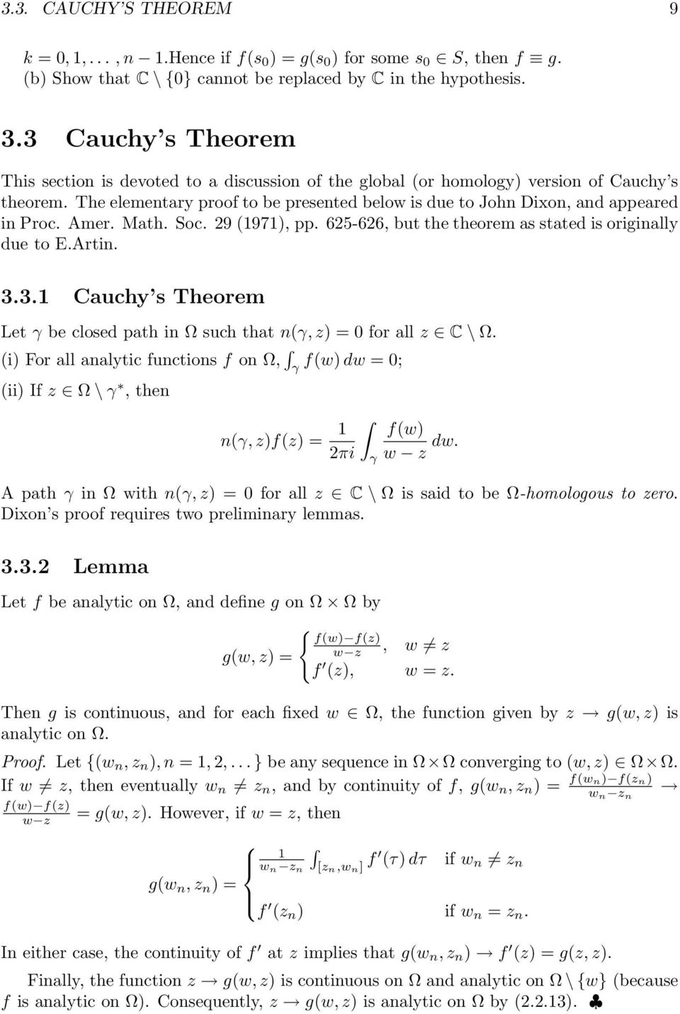 The elementary proof to be presented below is due to John Dixon, and appeared in Proc. Amer. Math. Soc. 29 (97), pp. 625-626, but the theorem as stated is originally due to E.Artin. 3.