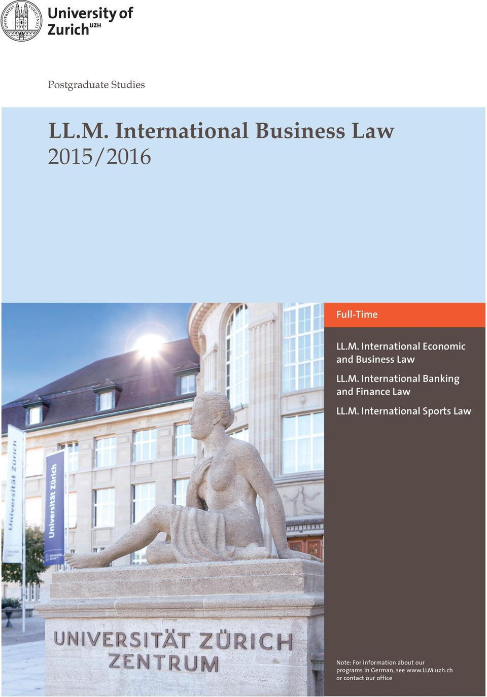 International Economic and Business Law LL.M.
