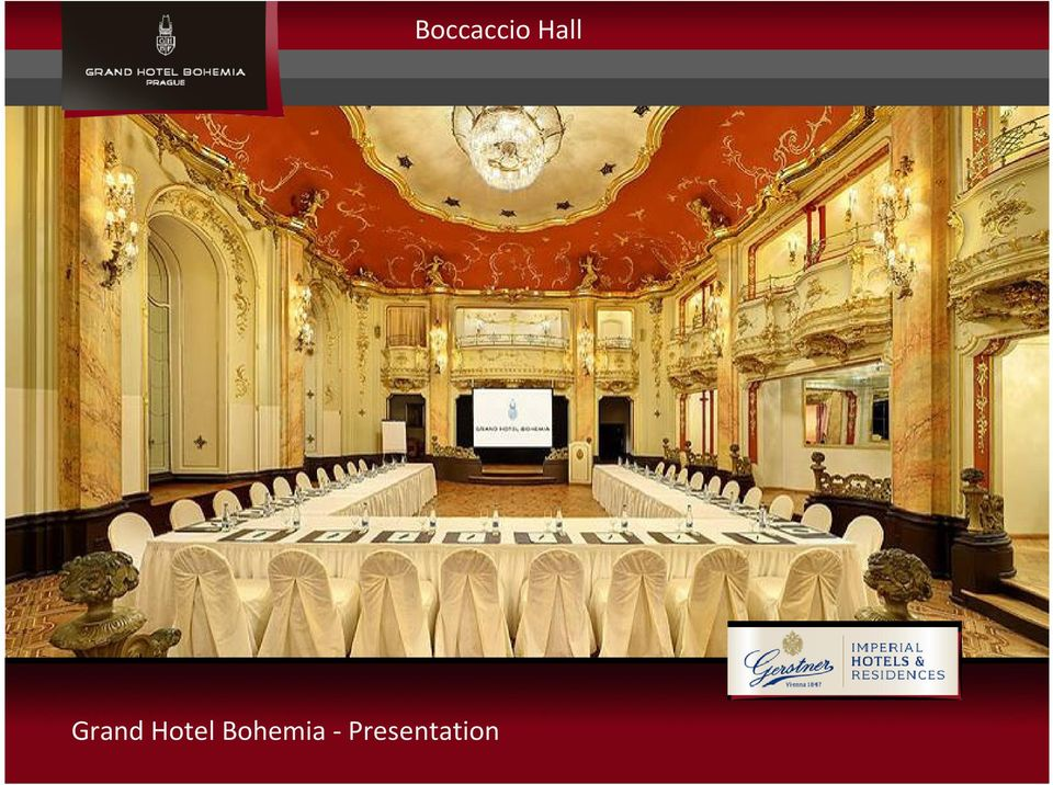 Grand hotel bohemia prague presentation pdf for Grand hotel bohemia prague restaurant