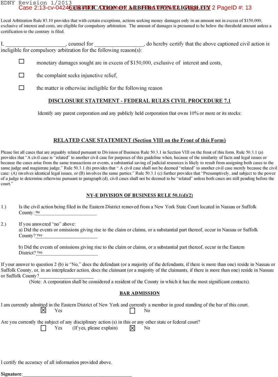 Document 1-1 Filed 07/26/13