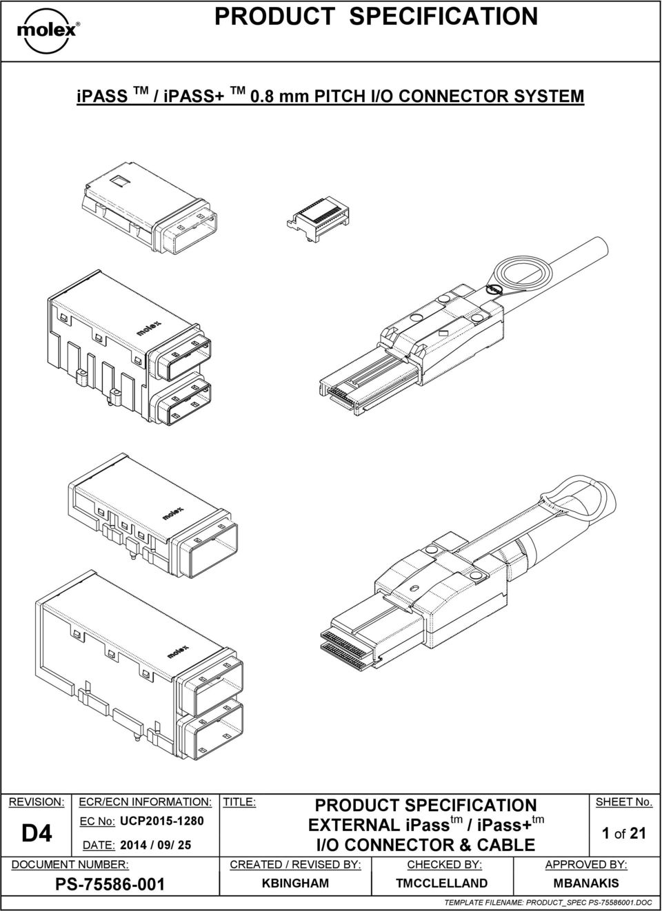 CONNECTOR SYSTEM