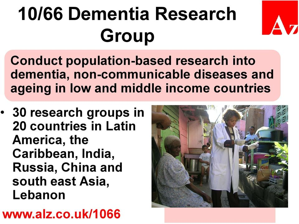 countries 30 research groups in 20 countries in Latin America, the