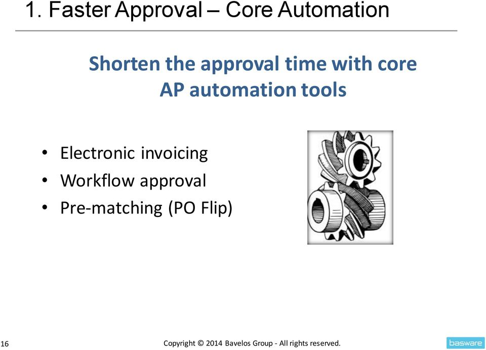 Electronic invoicing Workflow approval Pre-matching