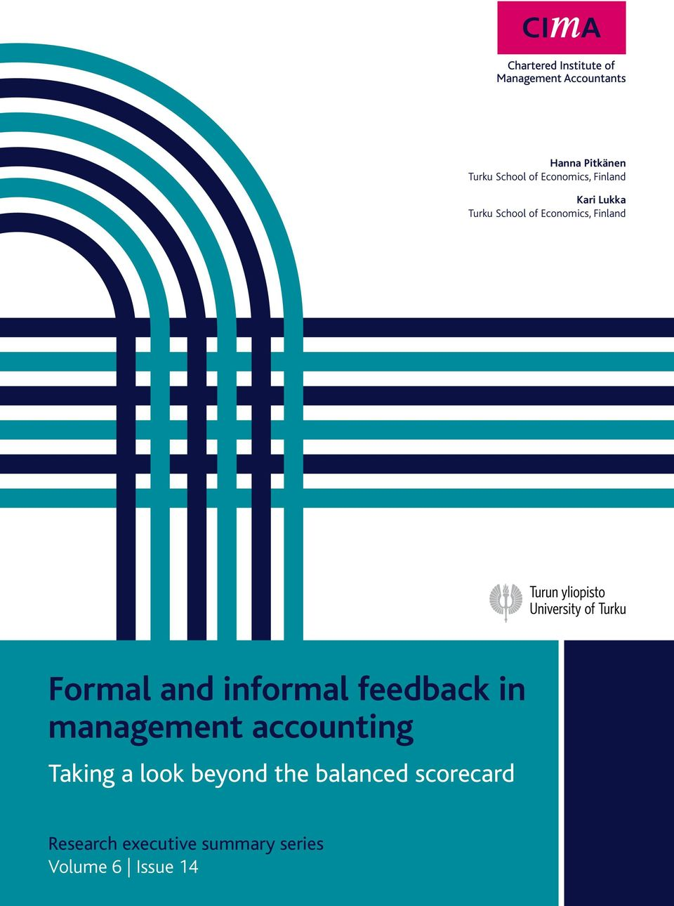 feedback in management accounting Taking a look beyond the