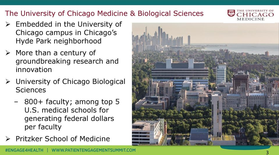 research and innovation University of Chicago Biological Sciences 800+ faculty; among top