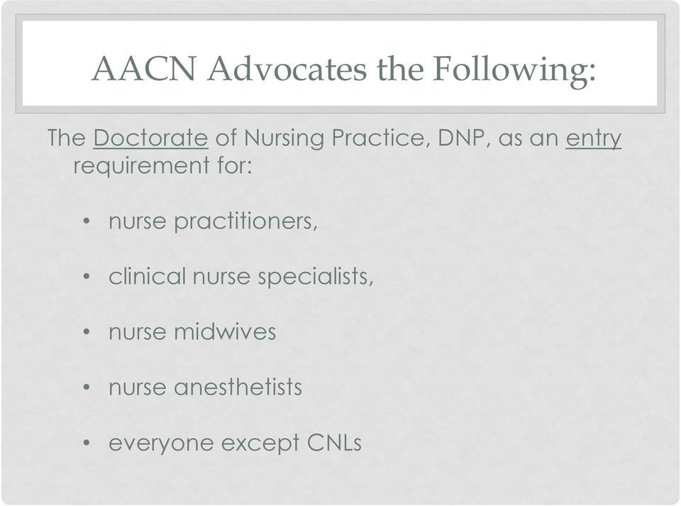 for: nurse practitioners, clinical nurse