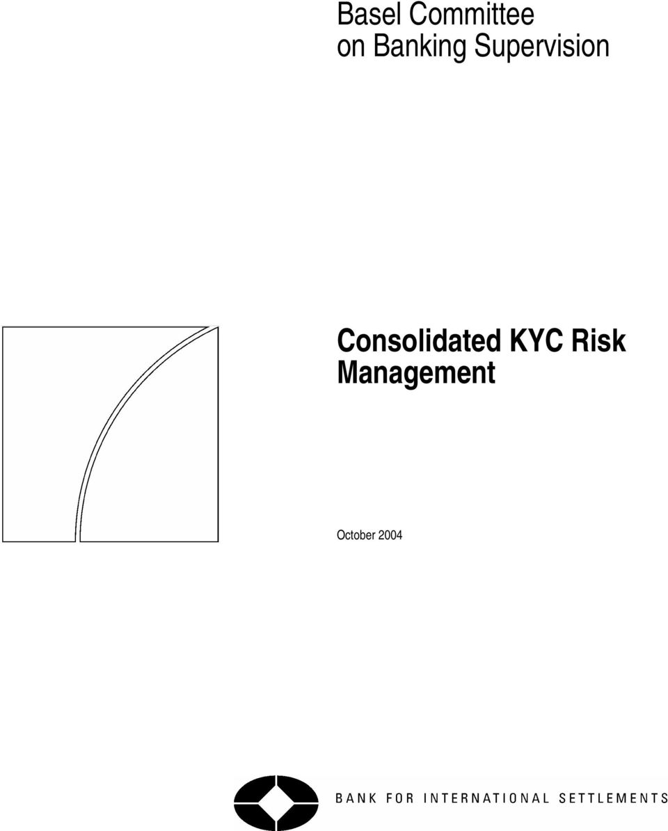 Consolidated KYC