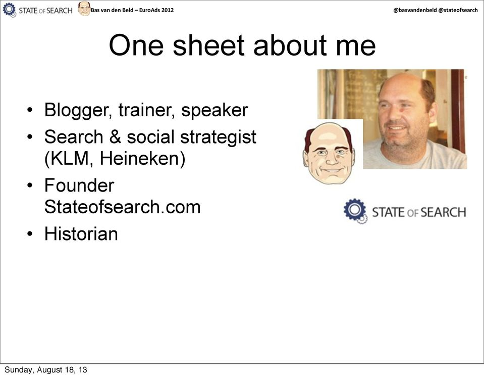 speaker Search & social strategist